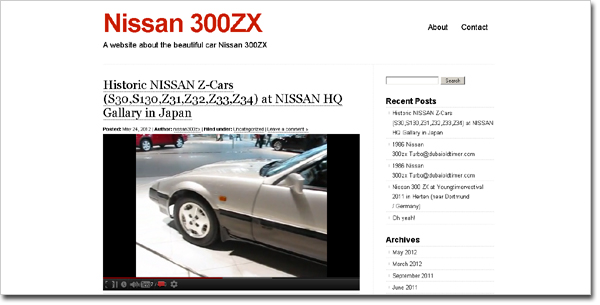 http://nissan300zx.wordpress.com